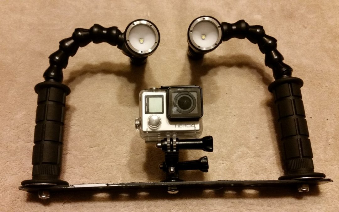 GoPro Camera Tray – Build Your Own Scuba Camera Mount